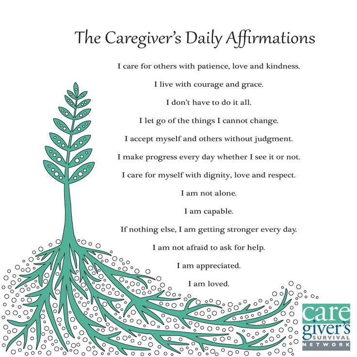 #caregiver #affirmations #carecard   https://www.facebook.com/care.compromocode  shared by http://www.JRSMedical.com