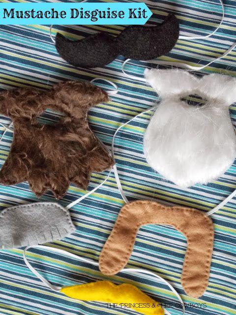 UnicornHatParty: Kids DIYs by truebluemeandyou • DIY Mustache and Beard Disguise Kits for Kids. ...