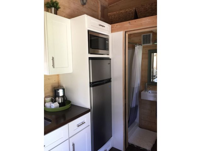 Perfect Love The Setup A Tiny House On Wheels With A Total Of Square Feet  Including Loft Of Living Space In La Mirada California With Living Spaces La  ...