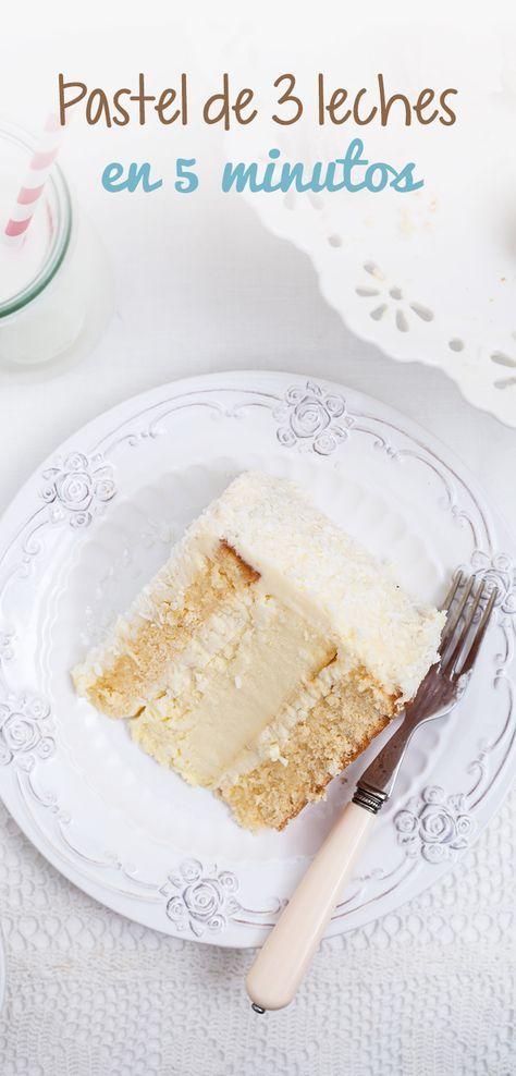 Pastel sencillo, rápido, ligero y en tiempo record, además es muy económico y no pone en riesgo tu dieta porque utilizas ingredientes bajos en calorías y naturales.