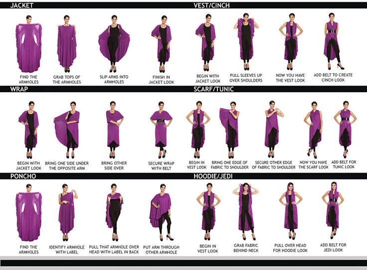 Fifteen-Ways Vest/Shawl - Women's Clothing & Symbolic Jewelry – Sexy, Fantasy, Romantic Fashions
