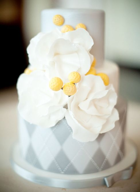 Gray And Yellow Wedding