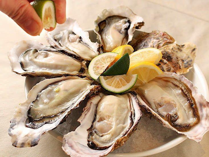 梅田NU茶屋町ではぷりっぷりの牡蠣が食べられる。 茶屋町のおすすめスポット