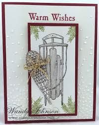 Image result for warm wishes stampin up card