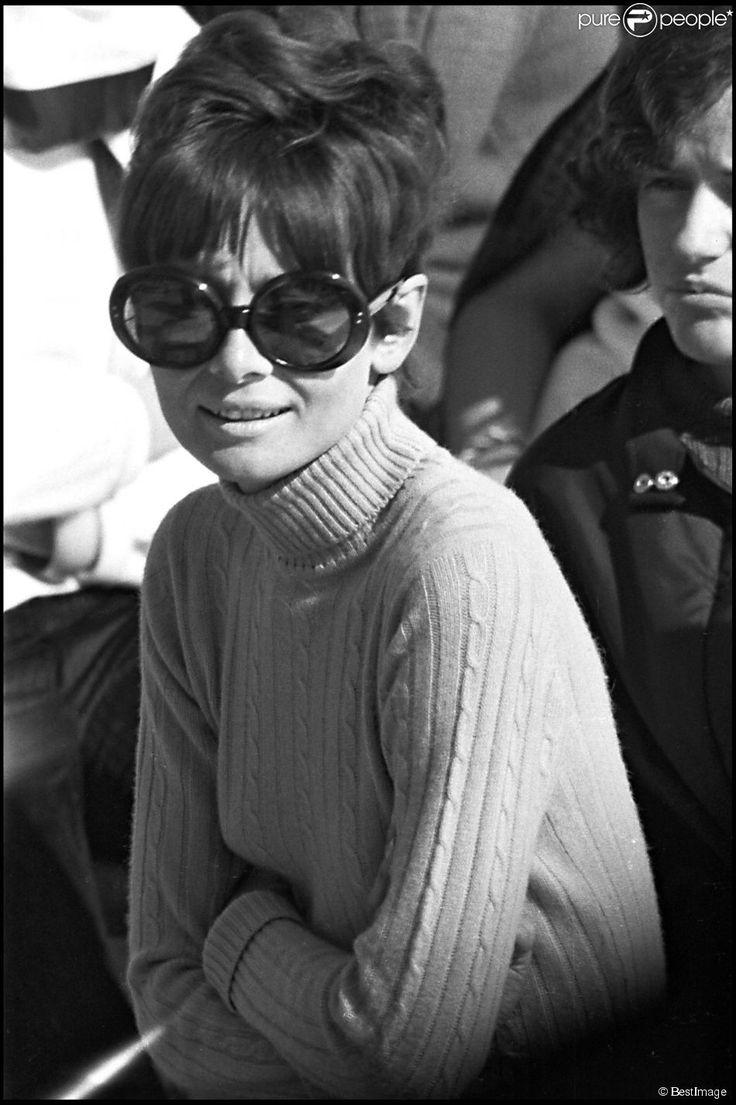 Audrey Hepburn à Saint Moritz en Suisse. (photo non datée)