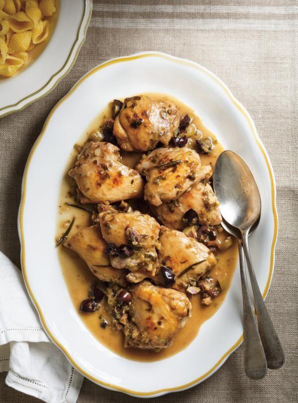 Recette de Ricardo de poulet toscan