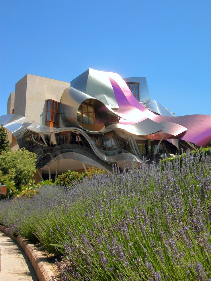 Marques de Riscal Winery designed by Frank Gehry