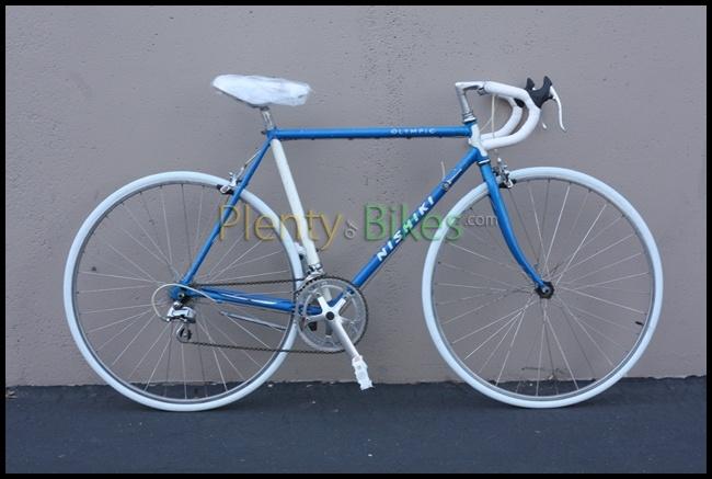 I love these vintage Japanese bikes! Just finished this beautiful 53cm Nishiki Olympic!