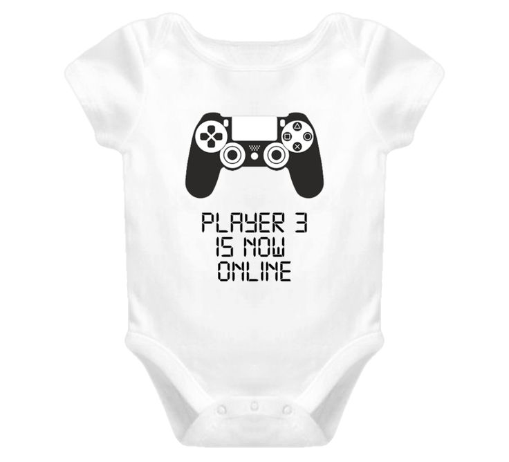 Player 3 Baby One Piece