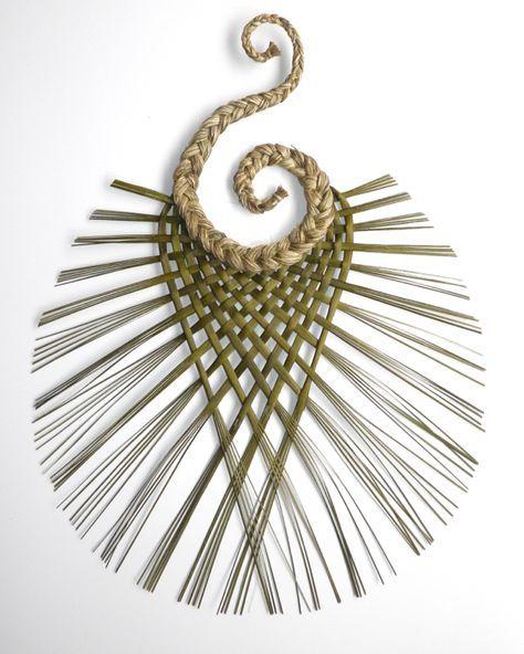 Double Koru Weaving | Wall Art | Artspace