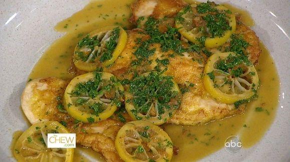 Clinton Kelly's Chicken Francese Recipe | The Chew - ABC.com