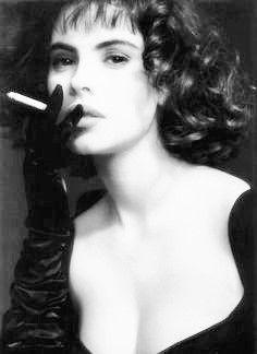 Mathilda May, née Karin Haïm en I965 à Saint-Ouen, est une actrice française.