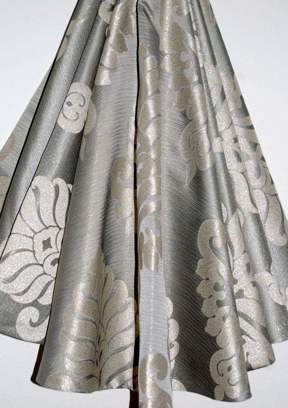 Silver Christmas Tree Skirt 54 Inch