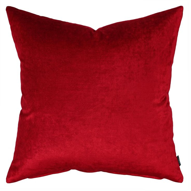 Sumptuous velvet, fabric that moves and changes with the light of the day. Rich and outstanding this cushion can stand alone or be used to compliment a colour scheme.  Size:  55cm x 55cm Insert:  100% premium feather Hidden zipper Front:  velvet Back:  velvet