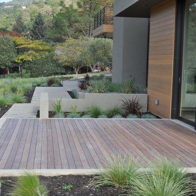 69 best Ground Level Decks images on Pinterest   Decks ... on Ground Level Patio Ideas id=76412