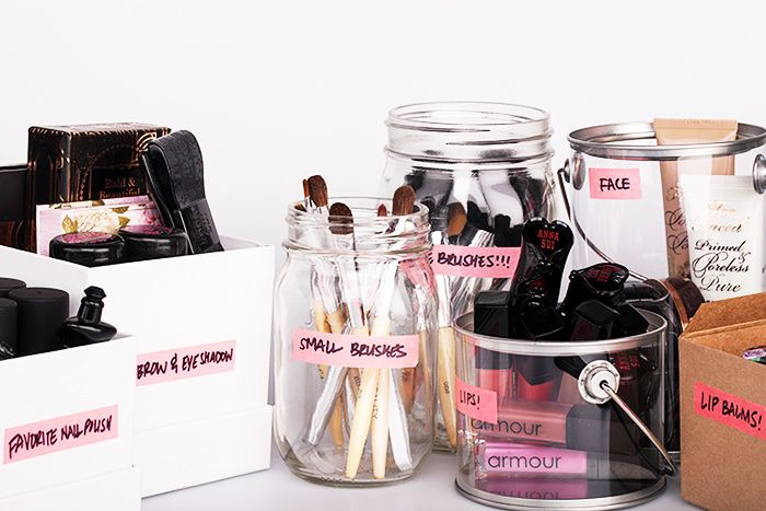 7+GENIUS+Makeup+Organization+Tricks+You+Can+Use+Right+Now+via+@ByrdieBeauty