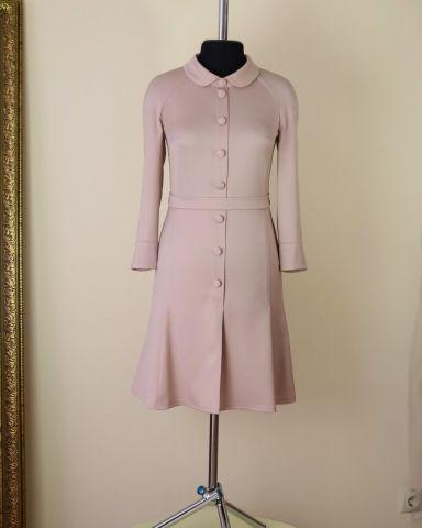 Платье из шерсти по мотивам Ульяны Сергеенко