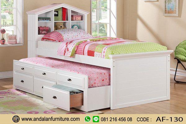 Tempat Tidur Anak Sorong Murah Minimalis