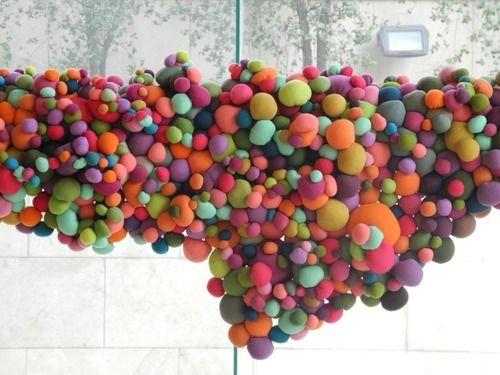 Textile installation work from Serena Garcia Dalla Venezia