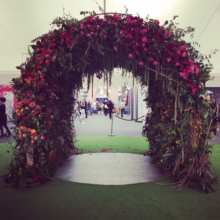 Flower Arch For Wedding: 41 Best Red Wedding Images On Pinterest