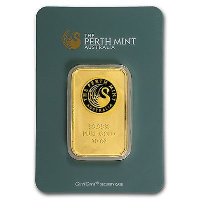 #1 TRUSTED SELLER: 10 oz Perth Mint Gold Bar .9999 Fine In Assay - SKU #57160 #goldfever #gold #fever #bar #ebay #future #proof #investing #investment #safest #safe #secure #best #bullion #rich #bullion #physical #where #to #buy #safely #no #risk #price #smart #clever #rich #1 #kilo #gram #ounce #bar #au