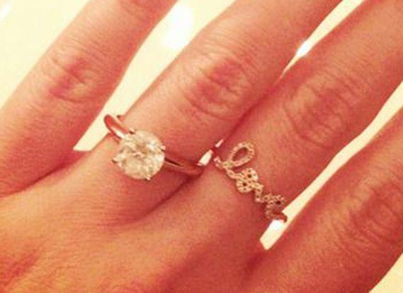 lauren conrads ring beautiful gold band - Lauren Conrad Wedding Ring