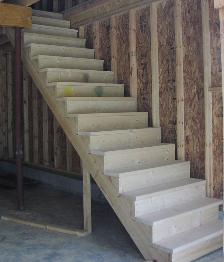Top 25 best building stairs ideas on pinterest deck for Garage building material calculator