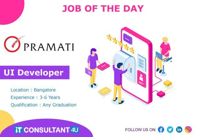 Uideveloper Uijobs Bangalorejobs Webdesignerjobs Itconsultant4u Jobseekers Jobsearch In 2020 Web Design Jobs Job Freelancing Jobs