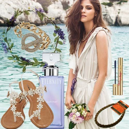 Tendencias moda Verano 2013 Look Brisa, summer inspiration #Bodybell #CalvinKlein #YSL #fragancias