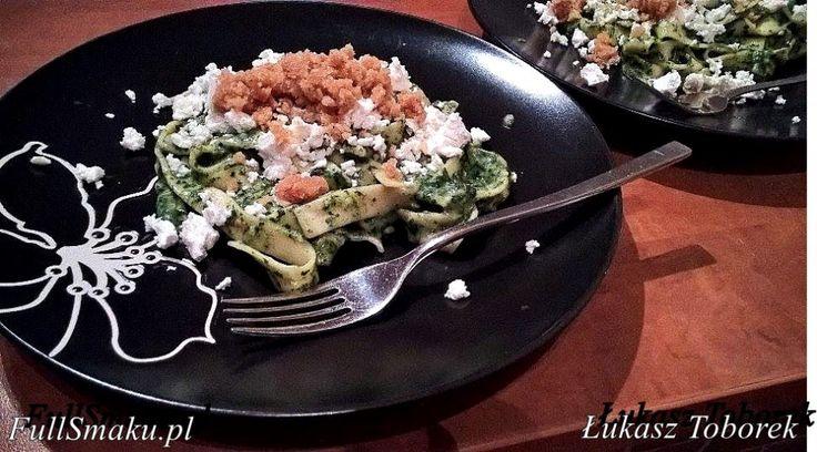 #makaron #pasta #szpinak #obiad #dinner