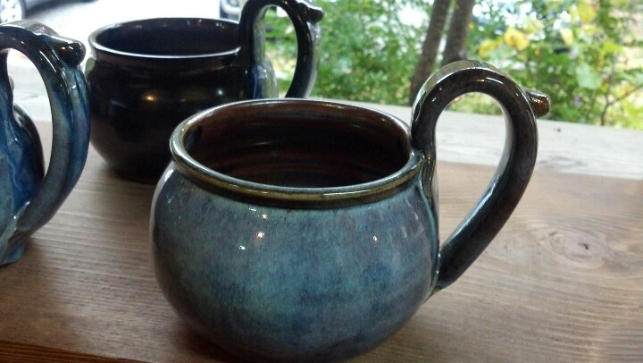 Soup bowls with handles from Alewine Pottery. Need four...