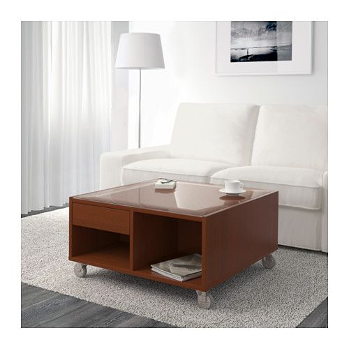 BOKSEL コーヒーテーブル - ミディアムブラウン - IKEA