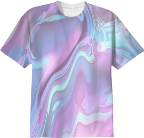 AQUA AGE T-Shirt by KEITH BOYLAN on Print All Over Me. #paomtee #paomdigital