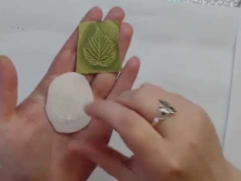 Оттиски фоамирана на силиконовом молде