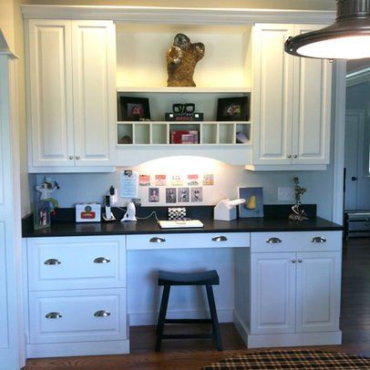 Best 25 kitchen desks ideas on pinterest for Desk in kitchen ideas