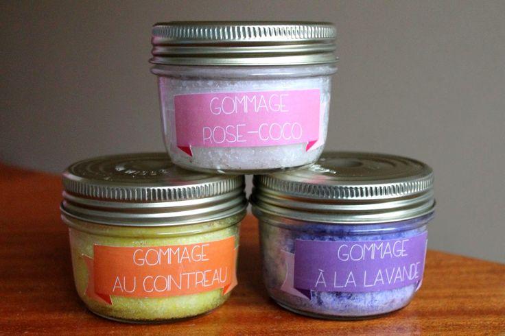 Anna et les Petites Choses ...: Gommage magique au sucre et huile de coco {DIY & printable inside}