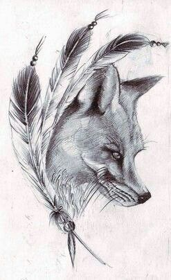 #fox #tattoo #black #white #grey #50shadesofgrey #blackandwhite #body #love #beautiful