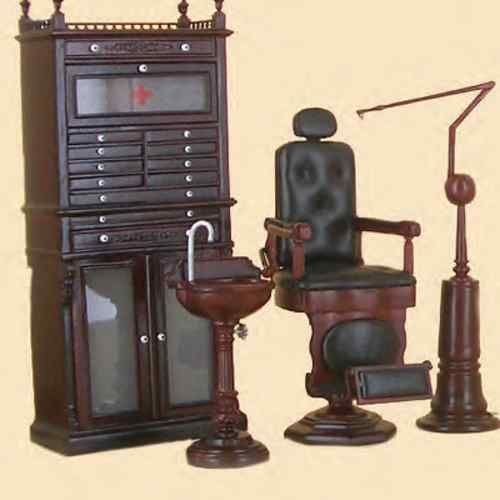 Bespaq Dollhouse Miniature furniture Doctor Dentist Dental medical office set | eBay