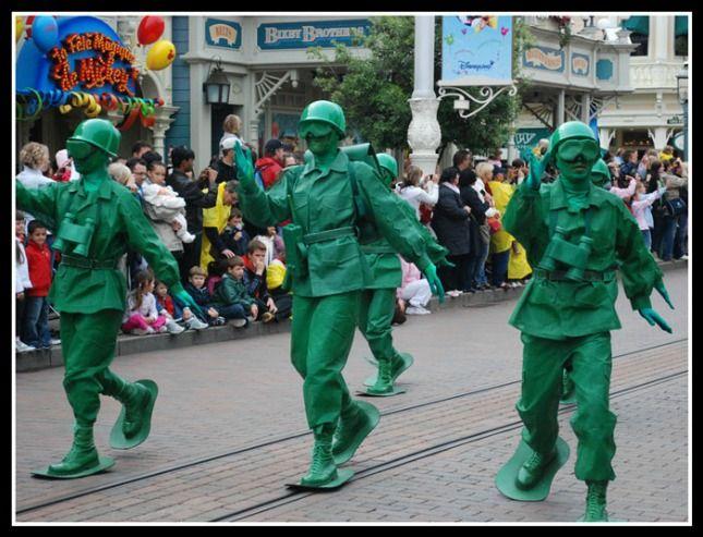 Army Men Halloween Group Costume