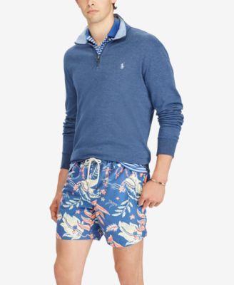 Polo Ralph Lauren Men's Big & Tall Half-Zip Pullover - Watch Hill Blue Heather 2XB