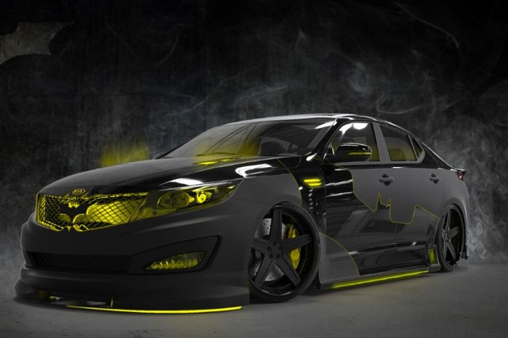 Batman Inspired Kia Optima - Without a doubt, the coolest Kia in the World.