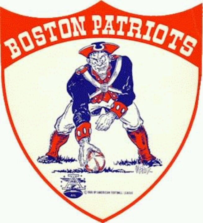 The New England Patriots, originally known as the Boston Patriots, joined the American Football League (AFL) as a charter member in 1960. Description from buyurticket.com. I searched for this on bing.com/images