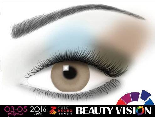 Схемы нанесения макияжа + подборка удачного сочетания цветов #beautyvision #beauty #выставкакрасотыкиев #стиль #красота #волшебныймакияж #макияж #makeup #amasingmakeup