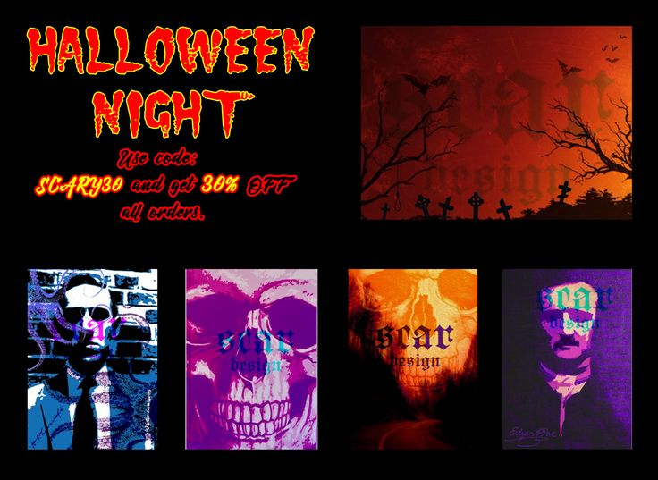 Halloween 30% Discount on all orders at my Shop!!! Use Code SCARY30 #Halloween #halloween #homedecor #scary #horror #HorrorMovies #HalloweenPosters #buyHalloweenPosters #discount #sales #displate #movies #Horror #WallArt #home #mancave #Thriller #HalloweenDecor #gifts #giftsforhim #giftsforher #Gothic #gothic #GothicDecor #cinephile #cinema #Poe #Lovecraft #skull #Skull #diadelosmuertos