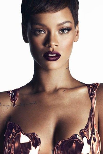 Rihanna RiRi Hearts MAC Fall Make-Up Collection (Vogue.com UK)
