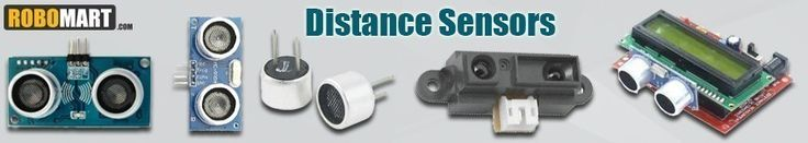 Robomart.com - The online megastore for buying online distance sensors at best buy prices.