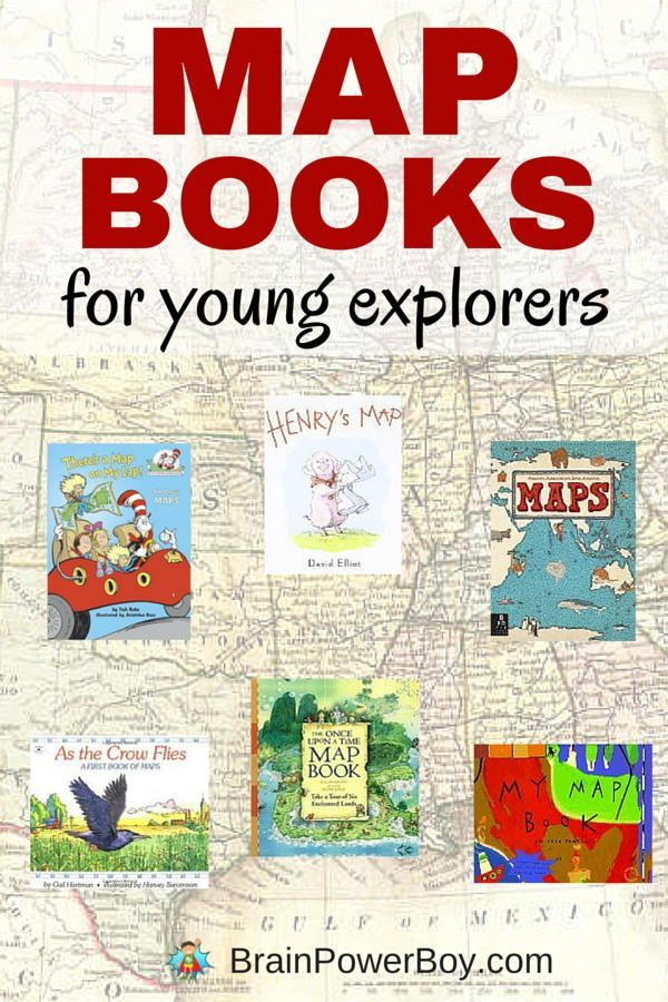 Kids love maps and these map books are perfect for encouraging their curiosity. {part of a free map unit study} Click to see all of the titles and links to other map resources. #mapbooks #childrensbooks #learning #homeschool