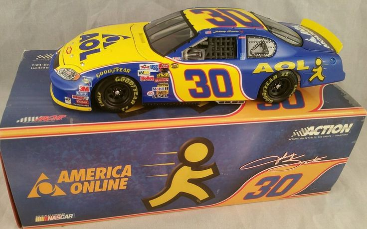 1:24 ACTION 2004 #30 AOL RCR CHEVY MONTE CARLO SS JOHNNY SAUTER NIB 1/2352 #Action #Chevrolet