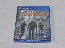 PS4 TOM CLANCY'S: THE DIVISION VIDEO GAME New/Sealed PLAYSTATION 4