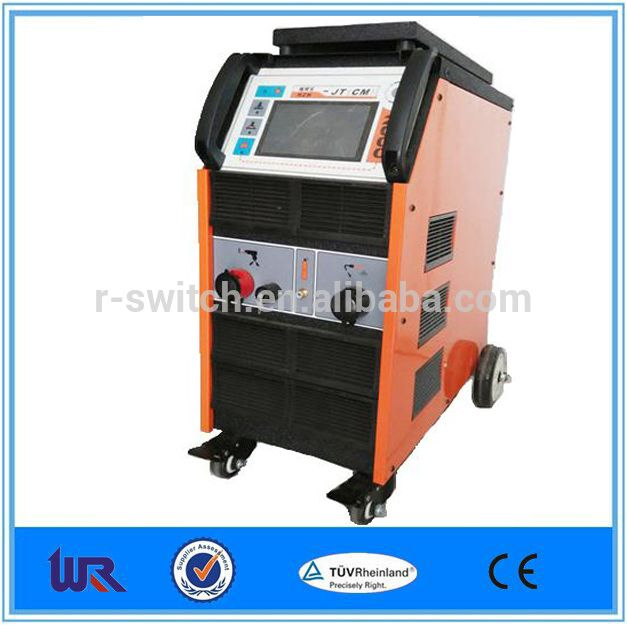 Intelligent touch screen stud welder multi-function stud welding unit